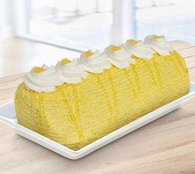 Mango Roll Cake, Red Ribbon Bakery
