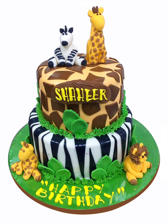 Custom Made Animal Cake