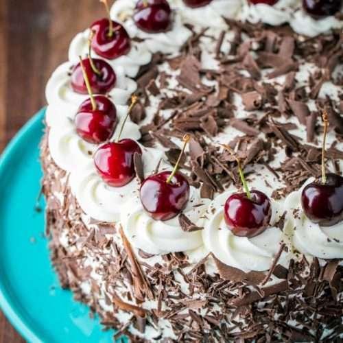 Black Forest Cake Red Ribbon Bakery