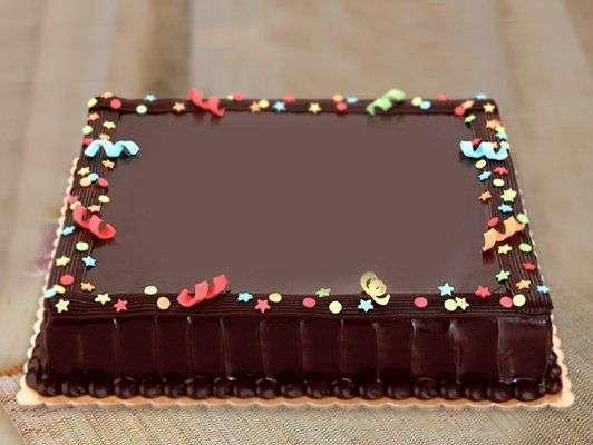Chocolate Deication Cake Red Ribbon Bakery