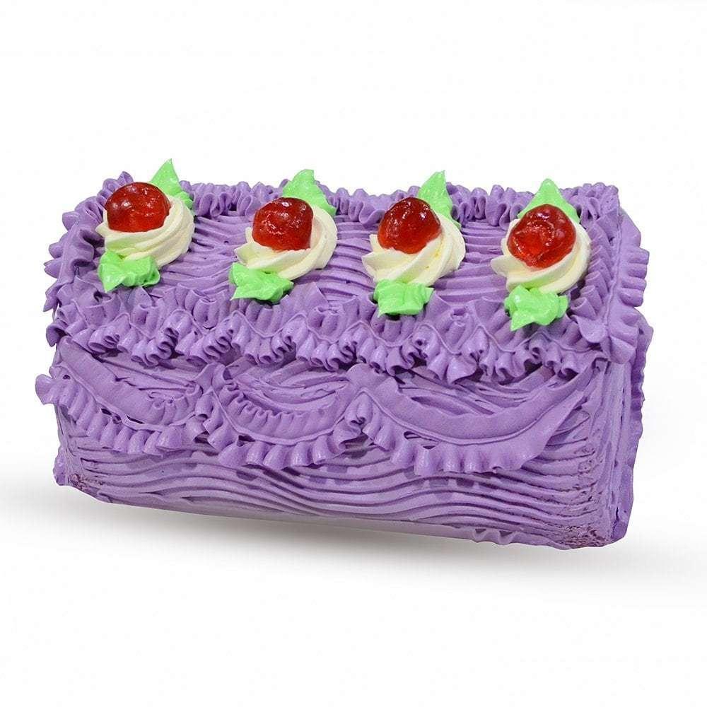 Ube Roll Cake Red Ribbon Bakery