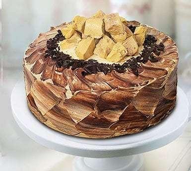 Choco Mocha Crunch Cake