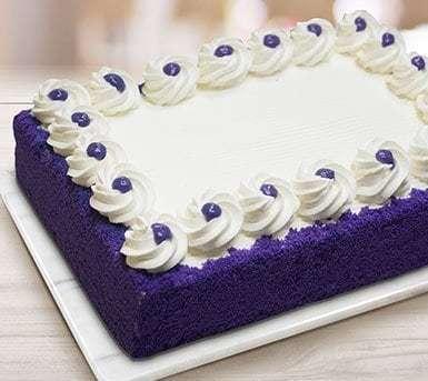 Ube Dedication Cake