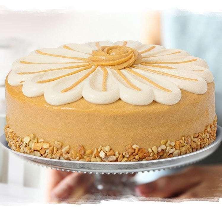 Yema Caramel Cake
