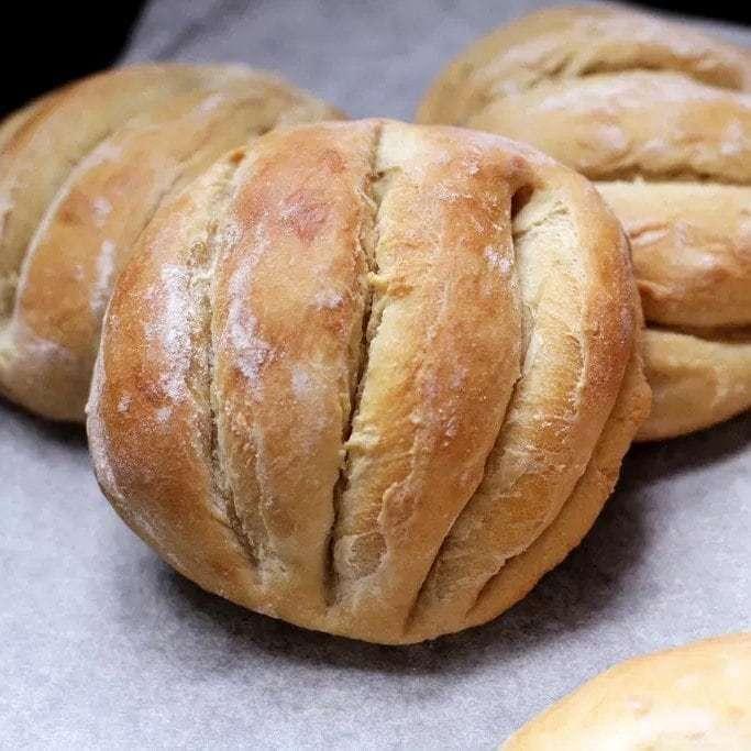 Monay Bread Red Ribbon Bakery Dubai